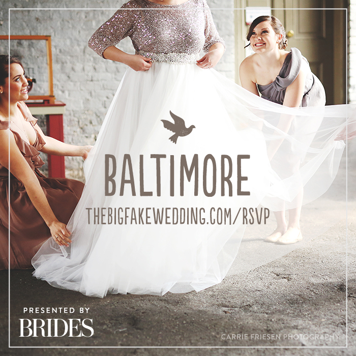 (Photo) Baltimore_The Big Fake Wedding-2015